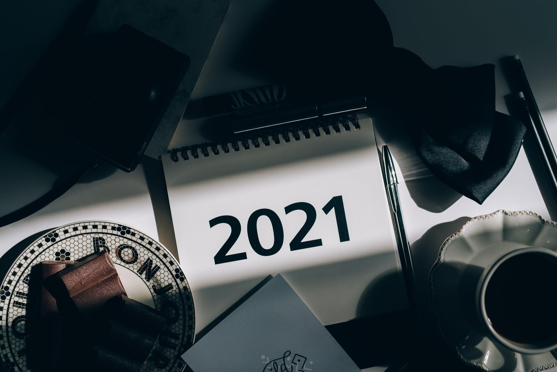 Ilustrasi Kalender 2021 (Olya Kobruseva-Pexels)