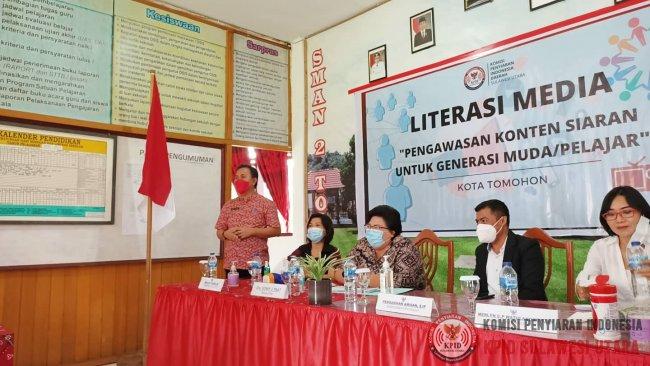 Literasi Media KPID Sulut