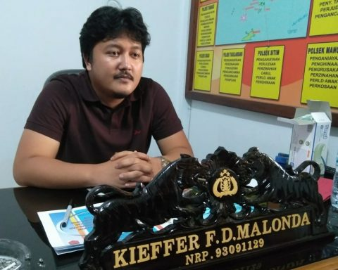 Kasat Reskrim Polres Sangihe