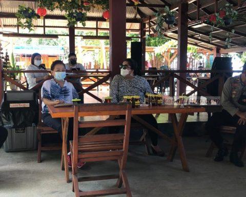 Sidak Lokasi Wisata DPRD Minahasa
