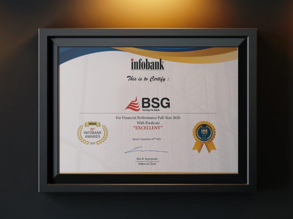 Infobank Award 2021 Bank SulutGo