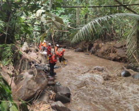 Operasi orang hilang Basarnas Manado