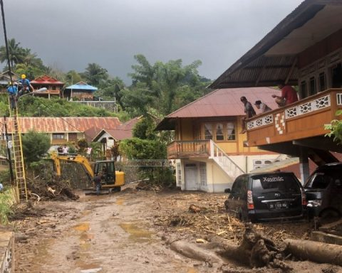Bencana Desa Pangu Mitra