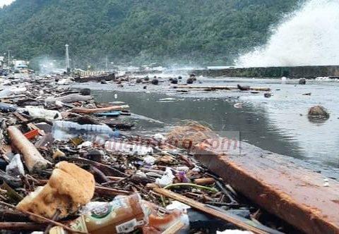 Badai Taifun Sangihe