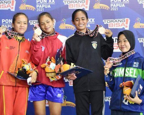 Angelina Runtukahu Muaythai Sulut